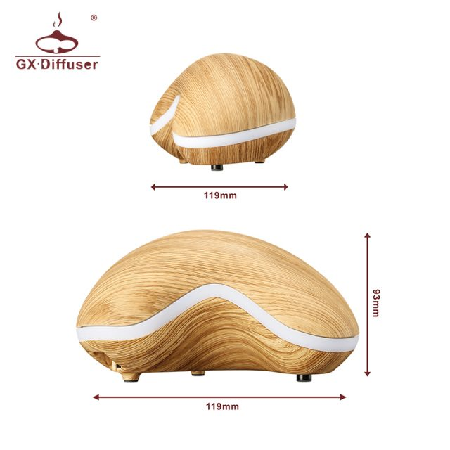 Gentle Breezes Diffuser Cashew Nut Shape Aromatherapy Humidifier Ultrasonic Air Humidifier Essential Oil Aroma Diffuser Mist Maker fogger