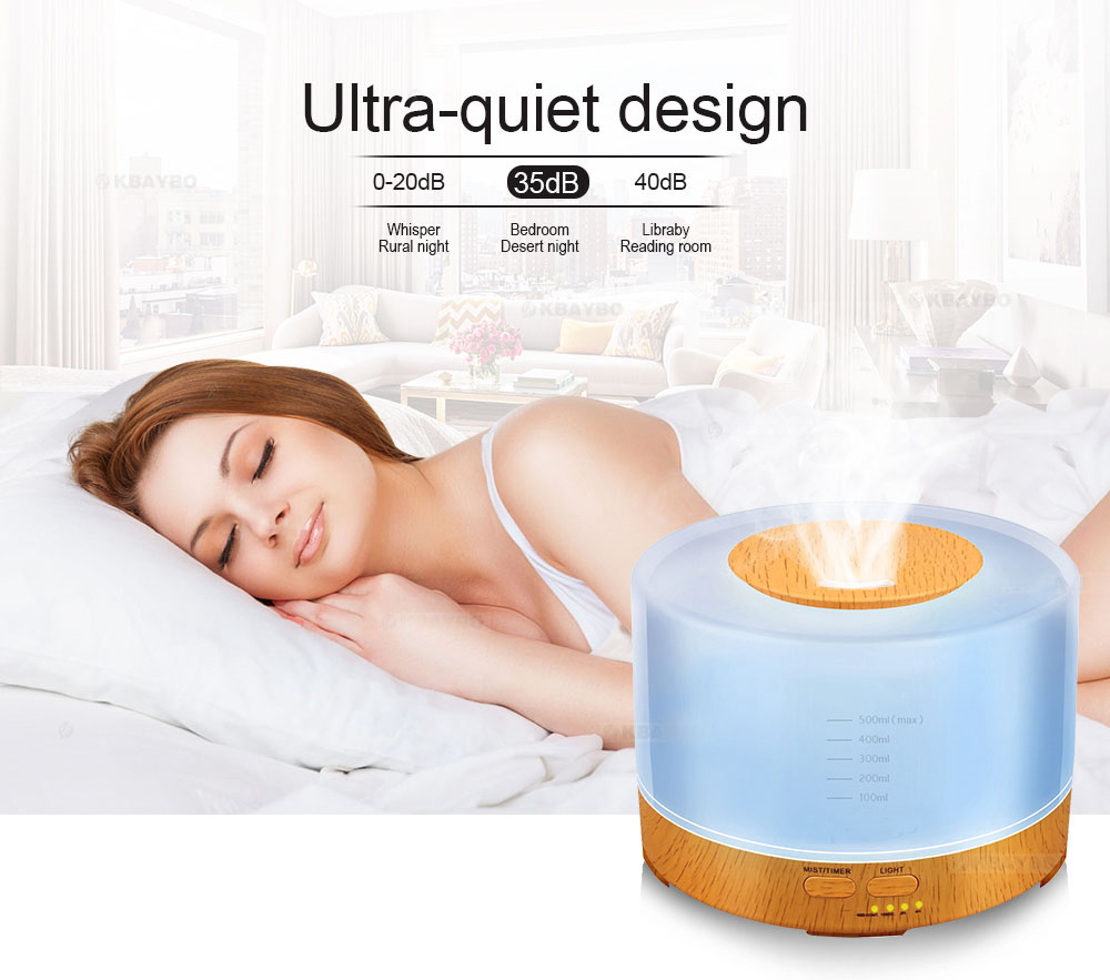 Gentle Breeze essential oil diffuser ultra quiet