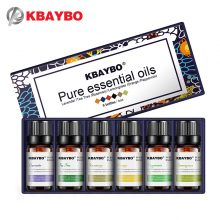 Aromatherapy Essential Oil Kit for Starters – 6 Fragrances: Lavender, Tea Tree, Rosemary, Lemongrass, Orange – FREE SHIPPING