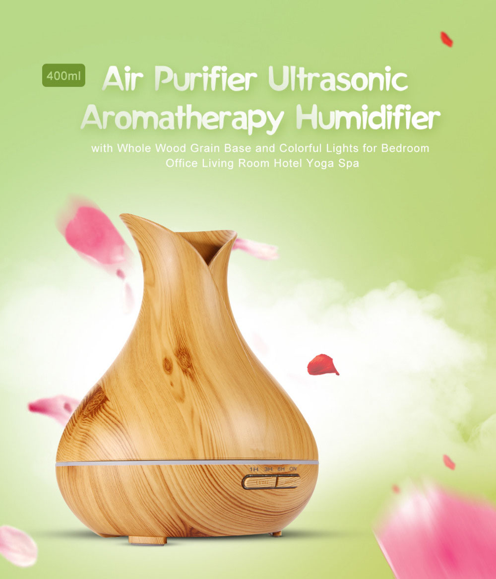 400ml ultrasonic diffuser humidifier