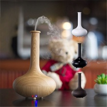 160ml Diffuser Ultrasonic Aroma Diffuser – Elegant Long Flower Vase Light Wood Air Humidifier for Essential Oil Aromatherapy in Home Office Spa -FREE SHIPPING