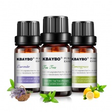 Basic Essential Oils for Aromatherapy Water-soluble Oil for Diffuser (Lavender, Lemongrass and Tea Tree )