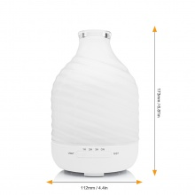 200ml Glass Air Humidifier Essential Oil Diffuser Ultrasonic Aroma Diffuser Humidifier Cool Mist Maker for Home & Office – FREE SHIPPING
