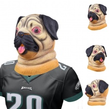 Creepy Dog Mask Latex  Philly NFL Football Super Bowl LII Canine Underdog Masks – FREE SHIPPING