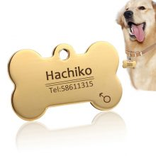 Stainless Steel Dog ID Tag – FREE Engraving