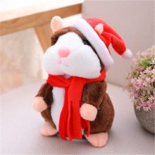 Talking Hamster Animal Toy Repeats What You Say