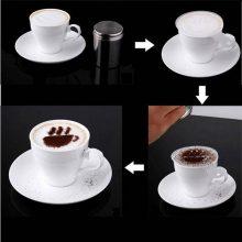 Gourmet Latte Cappuccino Hot Chocolate Coffee Stencils  (16pcs )
